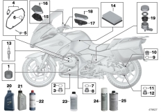 Goto diagram: BMW Classic Motorrad Modell R 1200 RT (0A03, 0A13)( USA ), Category 02.05 Service, engine oil / inspection :: Diagram: 02_0103