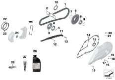 Goto diagram: BMW Classic Motorrad Modell C 650 Sport 16 (0C04, 0C14)( USA ), Category 02.07 Service chain drive :: Diagram: 02_0111