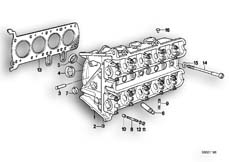 Goto diagram: BMW Classic Motorbike Model K 100 RS (0523,0533)( USA ), Category 11.20 Cylinder head :: Diagram: 11S1819