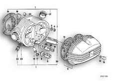 Goto diagram: BMW Classic Motorbike Model R 100 R Mystik 94( ECE ), Category 11.20 CYLINDER HEAD / COVER / GASKETS :: Diagram: 11_1692