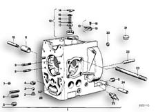 Goto diagram: BMW Classic Motorbike Model R65( USA ), Category 11.10 Engine housing :: Diagram: 11_1705