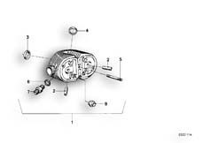 Goto diagram: BMW Classic Motorbike Model R65( USA ), Category 11.20 Cylinder Head Attached Parts :: Diagram: 11_1709