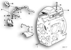 Goto diagram: BMW Classic Motorbike Model R65( USA ), Category 11.10 ENGINE VENTILATION :: Diagram: 11_1712