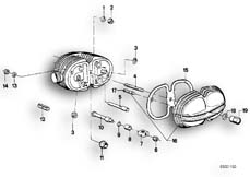 Goto diagram: BMW Classic Motorbike Model R75/5( ECE ), Category 11.20 Cylinder head cover :: Diagram: 11_1730