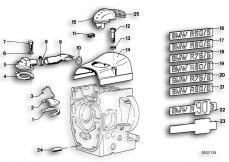 Goto diagram: BMW Classic Motorbike Model R75/5( ECE ), Category 11.10 ENGINE VENTILATION :: Diagram: 11_1734