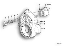 Goto diagram: BMW Classic Motorbike Model K 1100 LT (0526, 0536)( ECE ), Category 11.11 INTERMEDIATE HOUSING/ALTERNATOR COVER :: Diagram: 11_1768