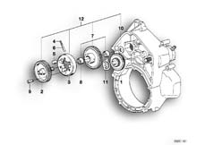 Goto diagram: BMW Classic Motorbike Model K 100 RS 83 (0502,0503,0513)( ECE ), Category 11.10 Countershaft :: Diagram: 11_1773