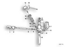 Goto diagram: BMW Classic Motorbike Model R65( USA ), Category 11.30 VALVES, VALVE TIMING GEAR, ROCKER ARM :: Diagram: 11_1788
