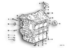 Goto diagram: BMW Classic Motorbike Model K 75 84 (0561)( ECE ), Category 11.20 Engine Block Mounting Parts :: Diagram: 11_1797