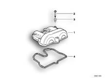 Goto diagram: BMW Classic Motorbike Model F 650 ST 97 (0163,0168)( ECE ), Category 11.12 Cylinder head cover :: Diagram: 11_1855