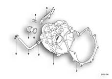 Goto diagram: BMW Classic Motorbike Model F 650 ST 97 (0163,0168)( USA ), Category 11.14 Engine housing cover, right :: Diagram: 11_1858