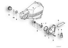 Goto diagram: BMW Classic Motorbike Model F 650 ST 97 (0163,0168)( ECE ), Category 11.51 Coolant pump :: Diagram: 11_1862