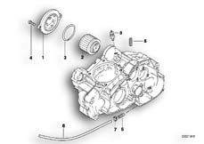 Goto diagram: BMW Classic Motorbike Model F 650 ST 97 (0163,0168)( USA ), Category 11.42 Oil filter :: Diagram: 11_1865