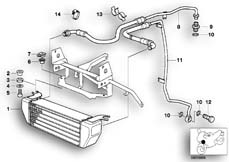 Goto diagram: BMW Classic Motorbike Model R 1100 GS 94 (0404,0409)( USA ), Category 17.21 OIL COOLER/OIL COOLING PIPE :: Diagram: 11_1873