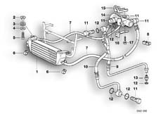 Goto diagram: BMW Classic Motorbike Model R 1100 RT 96 (0413,0418)( USA ), Category 17.21 OIL COOLER/OIL COOLING PIPE :: Diagram: 11_1877