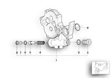 Goto diagram: BMW Classic Motorbike Model K 1200 GT 01 (0548,0558)( USA ), Category 11.41 OIL PUMP intermediate flange :: Diagram: 11_1879
