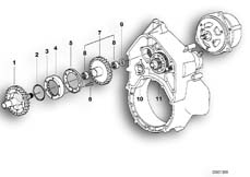 Goto diagram: BMW Classic Motorbike Model K 1200 GT 01 (0548,0558)( USA ), Category 11.26 Starter overrun clutch / countershaft :: Diagram: 11_1885