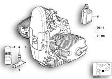 Goto diagram: BMW Classic Motorbike Model R 1200 C Indep. 03 (0362,0391)( USA ), Category 11.05 Engine :: Diagram: 11_2186