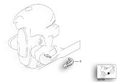 Goto diagram: BMW Classic Motorbike Model R 1200 C Indep. 03 (0362,0391)( USA ), Category 11.14 Spark plug cover :: Diagram: 11_2189