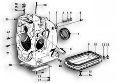 Goto diagram: BMW Classic Motorrad Modell R69 S( ECE ), Category 11.10 Housing :: Diagram: 11_2616