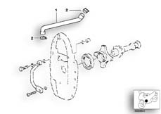 Goto diagram: BMW Classic Motorbike Model R 1200 C Indep. 00 (0405,0433)( ECE ), Category 11.15 ENGINE VENTILATION :: Diagram: 11_2668