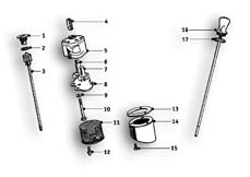 Goto diagram: BMW Classic Motorbike Model R51/2( ECE ), Category 11.35 Oil pump :: Diagram: 11_2753