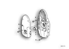 Goto diagram: BMW Classic Motorbike Model R 1150 GS Adv. 01 (0441,0492)( USA ), Category 11.14 Front cover/Alternator support cover :: Diagram: 11_2793