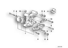 Goto diagram: BMW Classic Motorbike Model R 900 RT 05 SF (0367,0387)( ECE ), Category 11.31 Camshaft supporting bracket :: Diagram: 11_2804