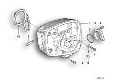 Goto diagram: BMW Classic Motorbike Model R 1150 GS Adv. 01 (0441,0492)( USA ), Category 11.12 Cylinder head :: Diagram: 11_2811