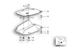 Goto diagram: BMW Classic Motorrad Modell R 1150 GS 00 (0415,0495)( ECE ), Category 11.84 Front aggregate protective plate :: Diagram: 11_2863