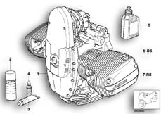 Goto diagram: BMW Classic Motorbike Model R 1150 GS Adv. 01 (0441,0492)( USA ), Category 11.05 Engine :: Diagram: 11_2870