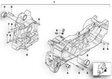 Goto diagram: BMW Classic Motorrad Modell C1 (0191)( ECE ), Category 11.11 Housing, engine-gearbox unit :: Diagram: 11_2899