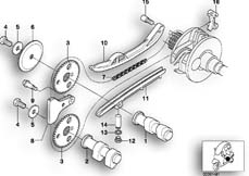 Goto diagram: BMW Classic Motorrad Modell C1 (0191)( ECE ), Category 11.34 TIMING GEAR - CAM SHAFT/CHAIN DRIVE :: Diagram: 11_2921