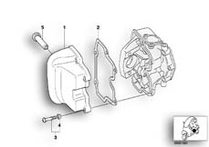 Goto diagram: BMW Classic Motorrad Modell C1 (0191)( ECE ), Category 11.12 Cylinder head cover :: Diagram: 11_2923