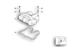 Goto diagram: BMW Classic Motorbike Model G 650 GS 09 (0178,0179)( ECE ), Category 11.12 Cylinder head cover :: Diagram: 11_2944