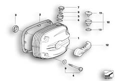 Goto diagram: BMW Classic Motorbike Model R 1150 GS Adv. 01 (0441,0492)( USA ), Category 11.12 Cylinder head cover - Double-Ignition :: Diagram: 11_3534