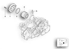 Goto diagram: BMW Classic Motorbike Model G 650 GS 09 (0178,0179)( ECE ), Category 11.42 Oil filter :: Diagram: 11_3889