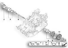 Goto diagram: BMW Classic Motorrad Modell F 700 GS 17 (0B26)( BRA ), Category 11.41 Single parts for oil pump :: Diagram: 11_4001