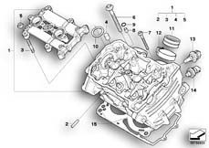 Goto diagram: BMW Classic Motorbike Model F 800 R (0215)( BRA ), Category 11.12 Cylinder head :: Diagram: 11_4002