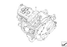 Goto diagram: BMW Classic Motorbike Model F 800 GT (0B03, 0B13)( USA ), Category 11.05 Engine :: Diagram: 11_4286