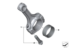 Goto diagram: BMW Classic Motorbike Model S 1000 R 17 (0D72)( BRA ), Category 11.24 Connecting rod / Connecting rod bearing :: Diagram: 11_4476