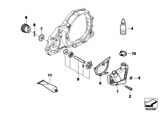 Goto diagram: BMW Classic Motorbike Model G 650 GS 09 (0178,0179)( ECE ), Category 11.51 Coolant pump :: Diagram: 11_4671