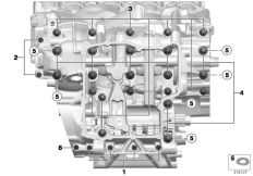 Goto diagram: BMW Classic Motorbike Model S 1000 R 17 (0D72)( BRA ), Category 11.11 Screw connection, crankcase :: Diagram: 11_4752