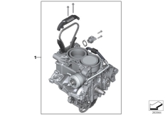 Goto diagram: BMW Classic Motorrad Modell C 650 Sport 16 (0C04, 0C14)( USA ), Category 11.05 engine / running gear :: Diagram: 11_5055