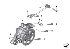 Goto diagram: BMW Classic Motorrad Modell C 650 Sport 16 (0C04, 0C14)( USA ), Category 11.41 Oil pump :: Diagram: 11_5109