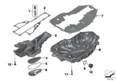 Goto diagram: BMW Classic Motorrad Modell F 800 GS Adve. (0B05, 0B15)( ECE ), Category 11.13 Oil pan :: Diagram: 11_5175