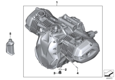 Goto diagram: BMW Classic Motorrad Modell R 1200 RS (0A05, 0A15)( USA ), Category 11.05 Engine :: Diagram: 11_5190