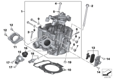 Goto diagram: BMW Classic Motorrad Modell G 310 GS (0G22)( BRA ), Category 11.12 Cylinder head :: Diagram: 11_6638