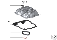 Goto diagram: BMW Classic Motorrad Modell G 310 GS (0G02, 0G12)( USA ), Category 11.12 Cylinder head cover/Mounting parts :: Diagram: 11_6639