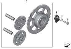 Goto diagram: BMW Classic Motorrad Modell G 310 GS (0G22)( BRA ), Category 11.26 Starter drive :: Diagram: 11_6640